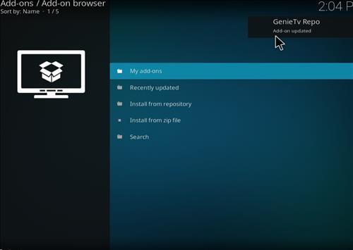 How to Install GenieTV Sports Kodi Add-on with Screenshots step 13