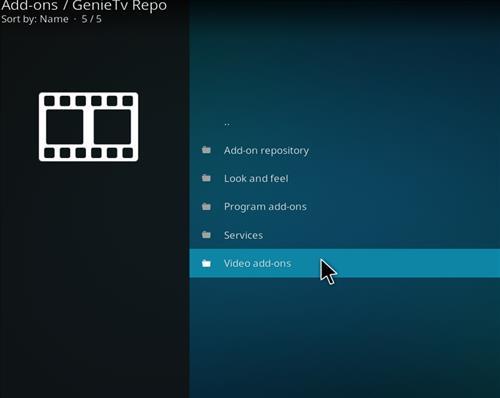 How to Install GenieTV Sports Kodi Add-on with Screenshots step 16