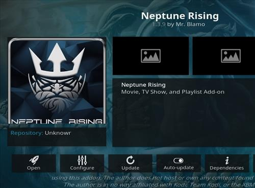 How to Install Neptune Rising Kodi Leia 18 Add-on step pic 1