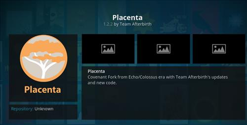 How to Install Placenta Add-on Kodi 18 Leia pic 1