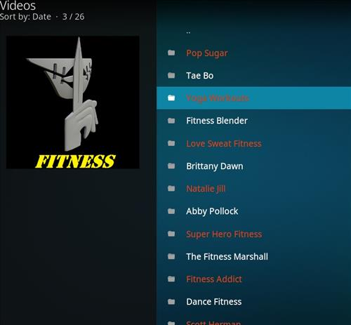 How to Install Stealth VOD Fitness Kodi Add-on with Screenshots pic 2