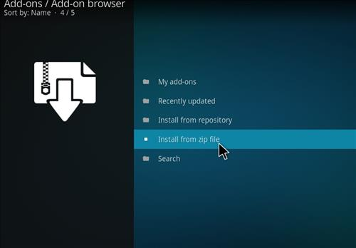 How to Install VistaTV Heaven Kodi Add-on with Screenshots step 10
