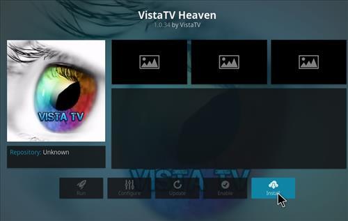 How to Install VistaTV Heaven Kodi Add-on with Screenshots step 18