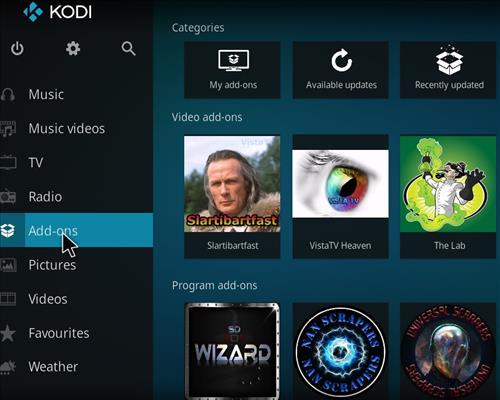 How to Install VistaTV Heaven Kodi Add-on with Screenshots step 8