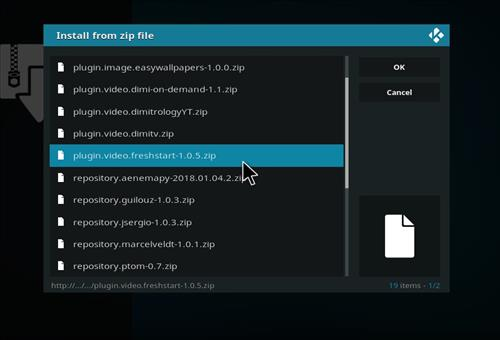 How to Wipe Kodi, Remove A Build, Clear Settings Fresh Start the Kodi step 12