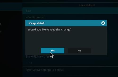 How to change the Skin back to Default Estuary Emby step 5