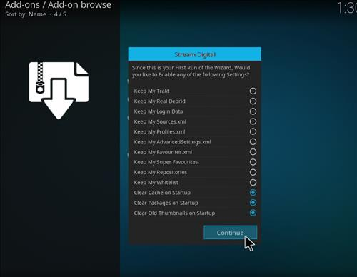 how to install Bk links kodi build with screenshots step 15