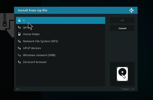 manual and download genietv repo step 4