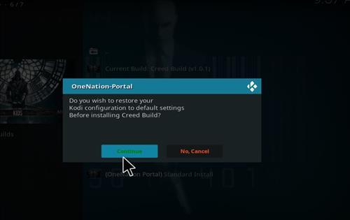 How to Install Creed Kodi Build Leia 18 step 24