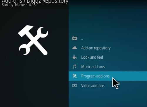 How to Install Diggz Xenon Kodi 18 Leia Build step 17