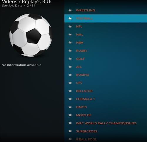 How to Install Replay's R Us Kodi Add-on with Screenshots pic 2