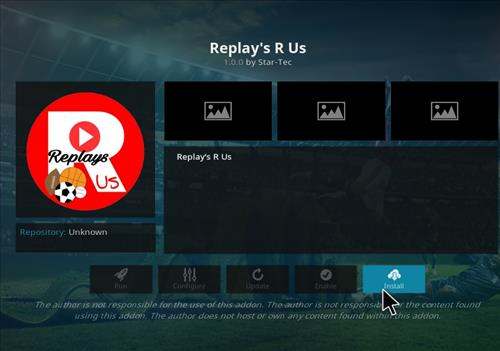 How to Install Replay's R Us Kodi Add-on with Screenshots step 19