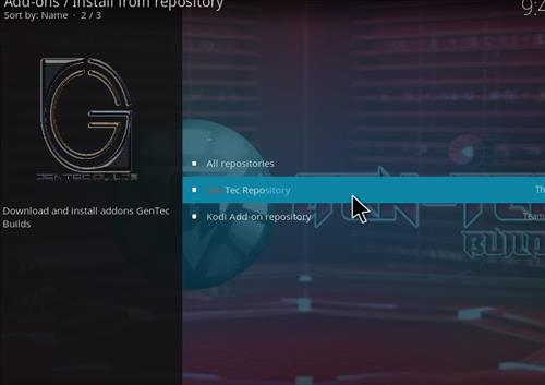 How to Install Open Directories Kodi Add-on with Screenshots