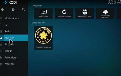 How to Install Startec Mobdro Kodi Add-on with Screenshots step 8