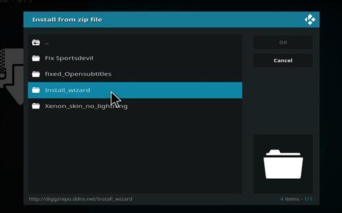 How to Install Xenon Kodi Build Leia 18 step 12