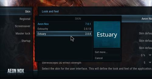 How to change the Skin back to Default Estuary Simply step 4