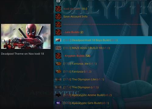 How to Install Deadpool Kodi Build Leia 18 step 23