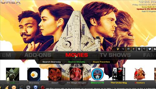 How to Install Durex Build Kodi 17.6 Krypton with Screenshots pic 1