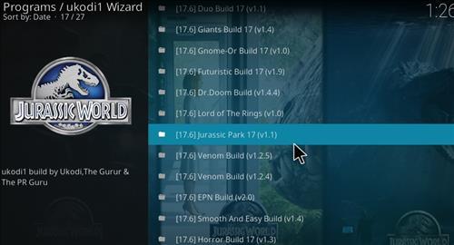 How to Install Jurassic Kodi Build with Screenshots step 24