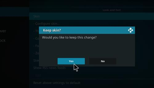 How to change the Skin back to Default Estuary goodluck step 5