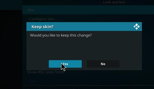 How to change the Skin back to Default Estuary ulterior step 5
