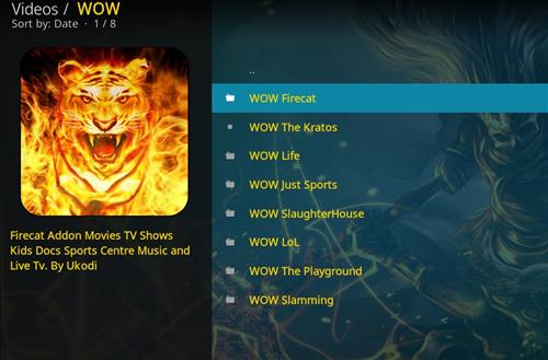 How top Install WOW Kodi Add-on with Screenshots pic 2