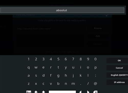 How to Install Absolut Kodi Repository with Screenshots step 6