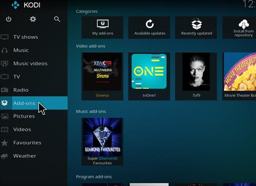 How to Install Absolut Kodi Repository with Screenshots step 8