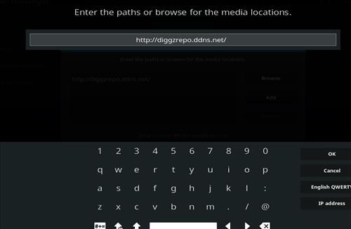How to Install Diggz Aurora Kodi 18 Leia Build step 5