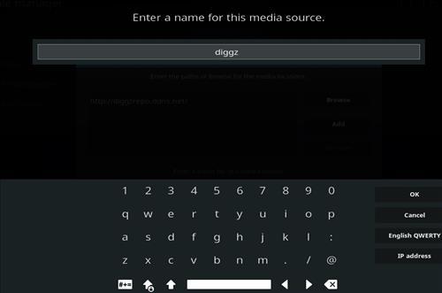 How to Install Diggz Aurora Kodi 18 Leia Build step 6