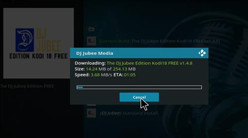 How to Install Dj Jubee Edition Kodi 18 Leia Build step 20