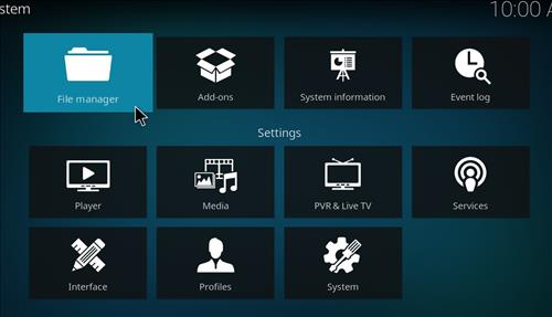 How to Install Empire Add-on on Kodi 18 Leia step 2