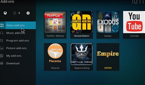 How to Install Empire Add-on on Kodi 18 Leia step 21