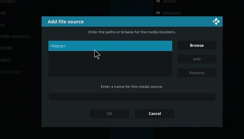 How to Install Empire Add-on on Kodi 18 Leia step 4