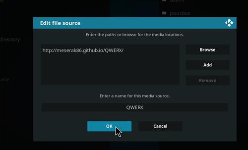 How to Install Empire Add-on on Kodi 18 Leia step 7