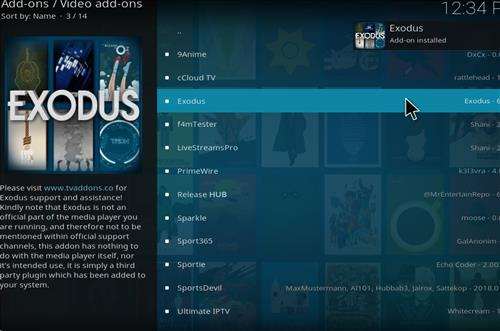 How to Install Exodus Kodi Add-on18 Leia step 21