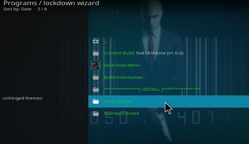 How to Install Fast Theme Kodi 18 Leia Build step 23