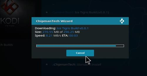 How to Install Ice Tigris Kodi Build with Screenshots step 19