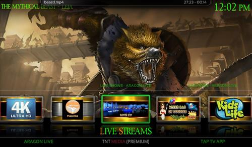 How to Install Mythical Beast Kodi Build 18 Leia pic 2