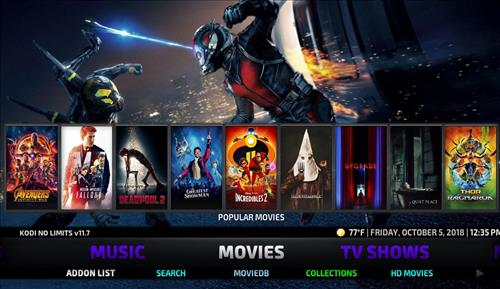 How to Install No Limits Magic Build Kodi Krypton pic 1
