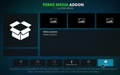 How to Install Perks Media Add-on on Kodi 18 Leia step 18