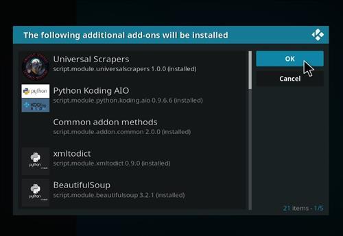 How to Install Perks Media Add-on on Kodi 18 Leia step 19
