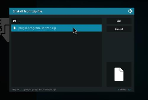 How to Install Resurrection Kodi Build with Screenshots step 12