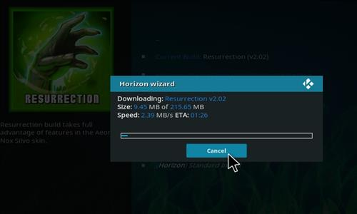 How to Install Resurrection Kodi Build with Screenshots step 19