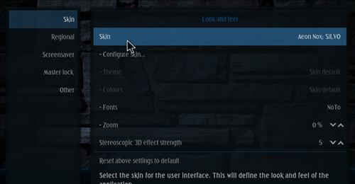 How to change the Skin back to Default Estuary bk nox. step 3