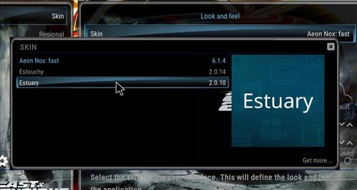 How to change the Skin back to Default Estuary fast theme 18 step 4
