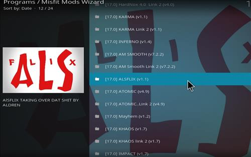 How to Install ALSFLIX Kodi Build with Screenshots step 23