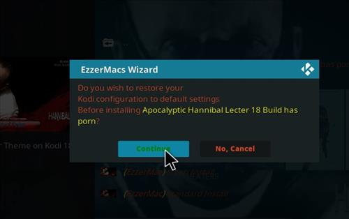 How to Install Apocalyptic Hannibal Lecter Kodi Build 18 Leia step 25