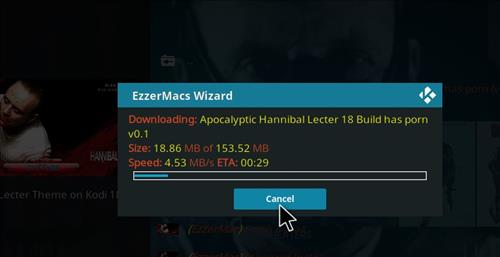 How to Install Apocalyptic Hannibal Lecter Kodi Build 18 Leia step 26