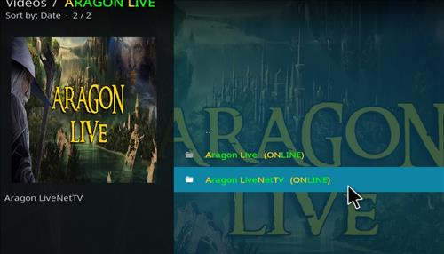 How to Install Aragon Live Kodi Add-on 18 Leia pic 2